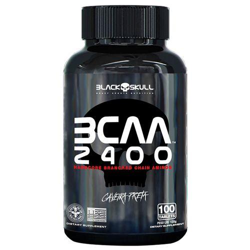 BCAA 2400 - 100 Tablets Black Skull